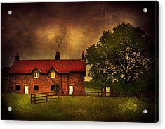 In A Village Acrylic Print by Svetlana Sewell