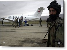 In Afghanistan A Northern Alliance Acrylic Print by Everett