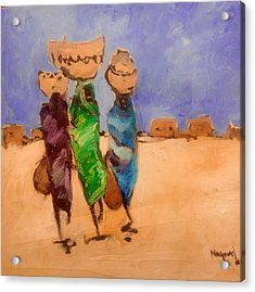 in Darfur 2 Acrylic Print by Negoud Dahab