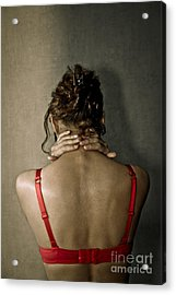 In Front Of The Wall Acrylic Print by Pierre-jean Grouille