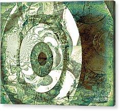 In God We Trust Acrylic Print by Fania Simon