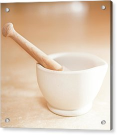 In Kitchen Acrylic Print by Peter Chadwick LRPS