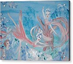 In My Dreams Im Dancing Acrylic Print by Judith Desrosiers
