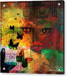 In Paradis Acrylic Print by Fania Simon