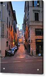 In Search Of Dinner Acrylic Print by