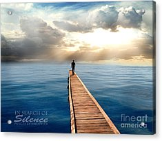 In Search Of Silence  Acrylic Print by Eugene James