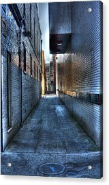In The Alley Acrylic Print by Dan Stone