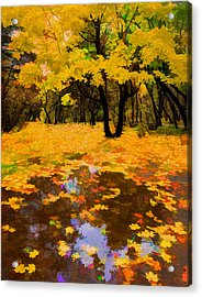 In The Autumn Mood Acrylic Print