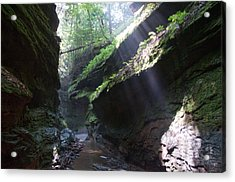 In The Cleft Of The Rock Acrylic Print