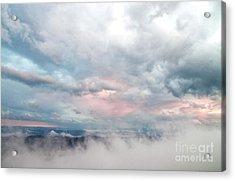 Acrylic Print featuring the photograph In The Clouds by Jeannette Hunt