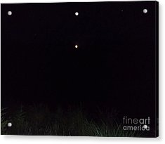 In The Company Of The Moon Acrylic Print