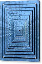 In The Eye Of The Storm 5 Acrylic Print by Tim Allen