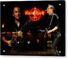 In The Hard Rock Cafe Acrylic Print by Steve K