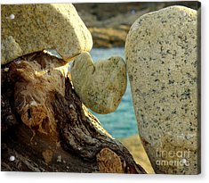 In The Heart Of Things Acrylic Print by Lainie Wrightson