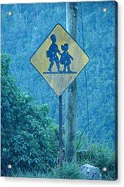 In The Hills Of Saint Ann Parish Acrylic Print by K Walker