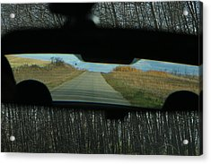 In The Rear View Acrylic Print