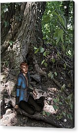 In The Wood Acrylic Print