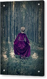 In The Woods Acrylic Print by Joana Kruse