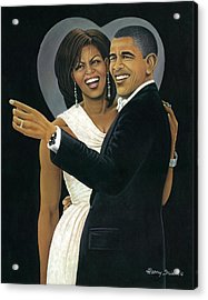 Inaugural Ball Acrylic Print by Henry Frison