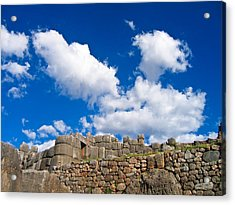 Inca Ruins Acrylic Print
