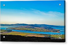 Inch Island County Donegal Ireland Acrylic Print by Black Sun Forge