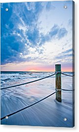Incoming Tide Acrylic Print by Adam Pender