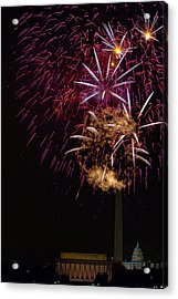 Independence Day In Dc 4 Acrylic Print by David Hahn