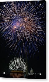 Independence Day In Dc 5 Acrylic Print by David Hahn