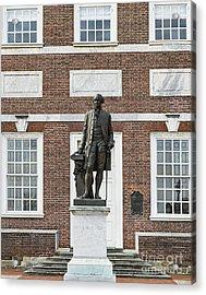 Independence Hall Philadelphia Acrylic Print by John Greim