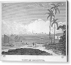 India: Calcutta, C1830 Acrylic Print by Granger