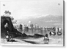 India: Taj Mahal, C1860 Acrylic Print by Granger