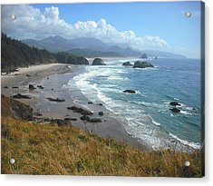 Indian Beach Ecola State Park Acrylic Print