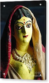 Acrylic Print featuring the photograph Indian Beauty by Fotosas Photography