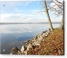 Indian Summer Day Acrylic Print by Dennis Leatherman