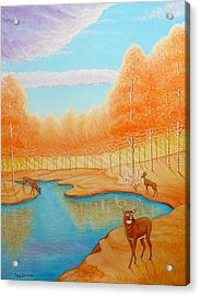 Indian Summer Acrylic Print