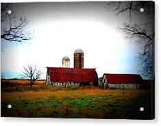 Indiana Barns Acrylic Print