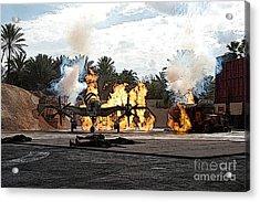 Indiana Jones Epic Stunt Spectacular At Hollywood Studios Walt Disney World Prints Poster Edges Acrylic Print
