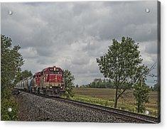 Indiana Southern 4051 At Mackey Indiana Acrylic Print