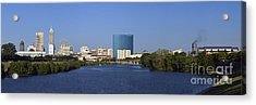 Indianapolis - D007990 Acrylic Print by Daniel Dempster