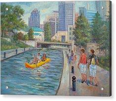 Indianapolis Canal Walk Acrylic Print