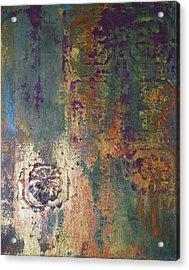 Industrial Moss Acrylic Print