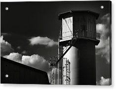 Industrial Silo, Mizuho Acrylic Print by Photography by Stephen Cairns