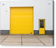 Acrylic Print featuring the photograph Industrial Warehouse by Hans Engbers