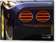 Indy Pace Car Acrylic Print by Dennis Hedberg