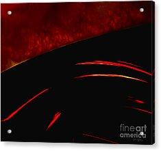 Inferno Acrylic Print by Gerlinde Keating - Galleria GK Keating Associates Inc
