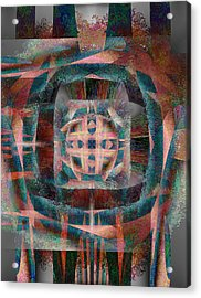 Infinite Scrollwork Acrylic Print by Christopher Gaston