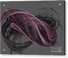 Acrylic Print featuring the digital art Infinity by Kim Sy Ok