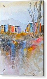 Informal Settlement Cape Town Acrylic Print