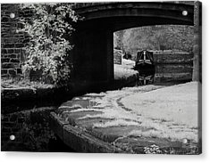 Acrylic Print featuring the photograph Infrared At Llangollen Canal by Beverly Cash