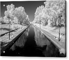 Infrared River Acrylic Print by Stavros Argyropoulos